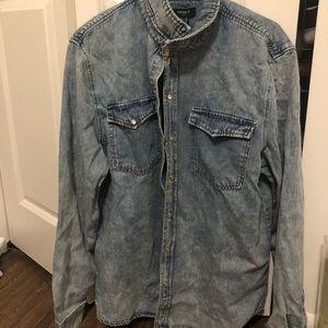 Men's XL denim shirt / light jacket